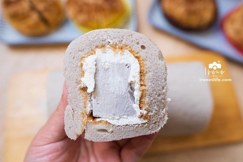 芋頭奶凍捲